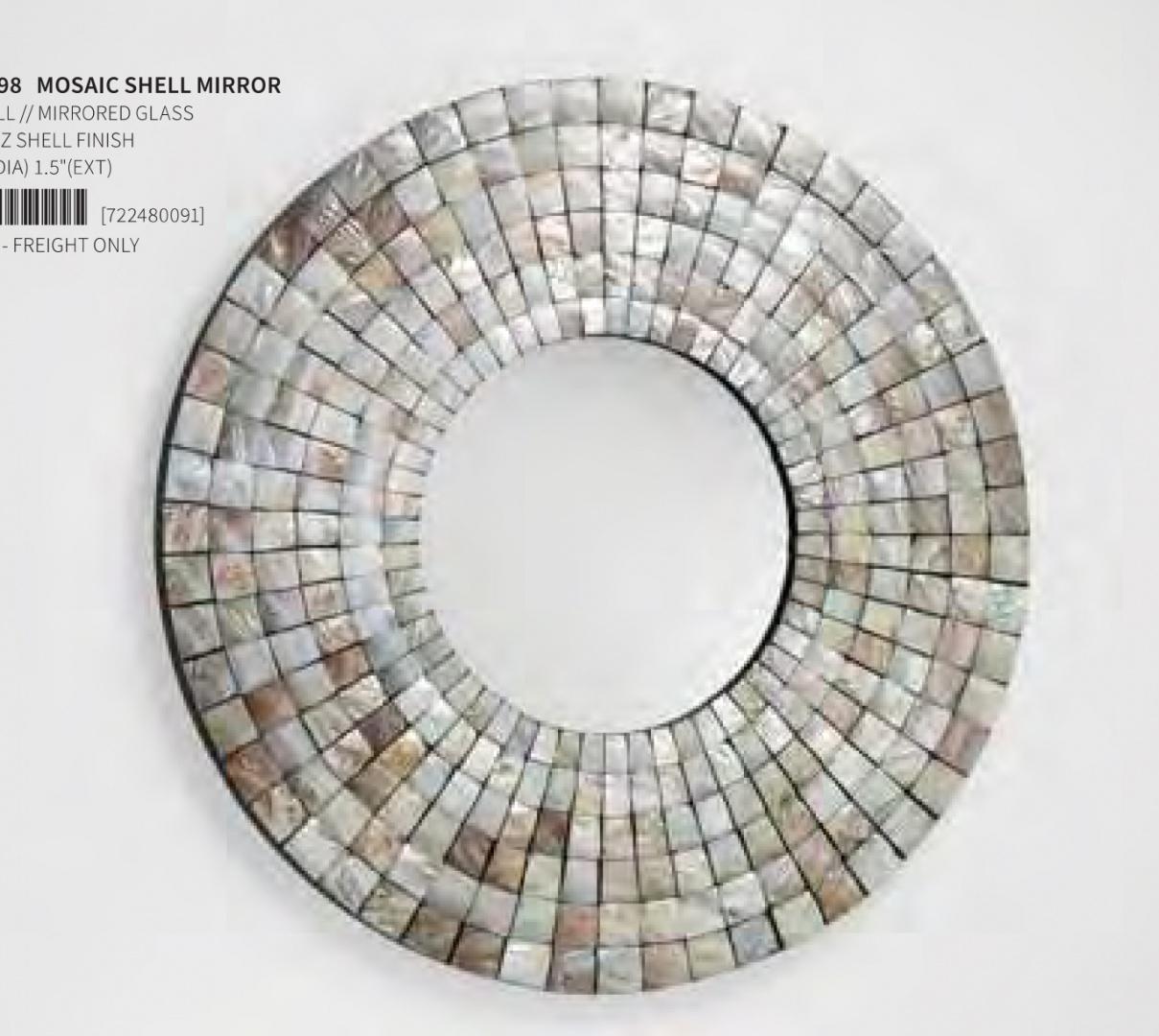 "CYAN DESIGN зеркало ""мозаика"" Mosaic Shell 02798"