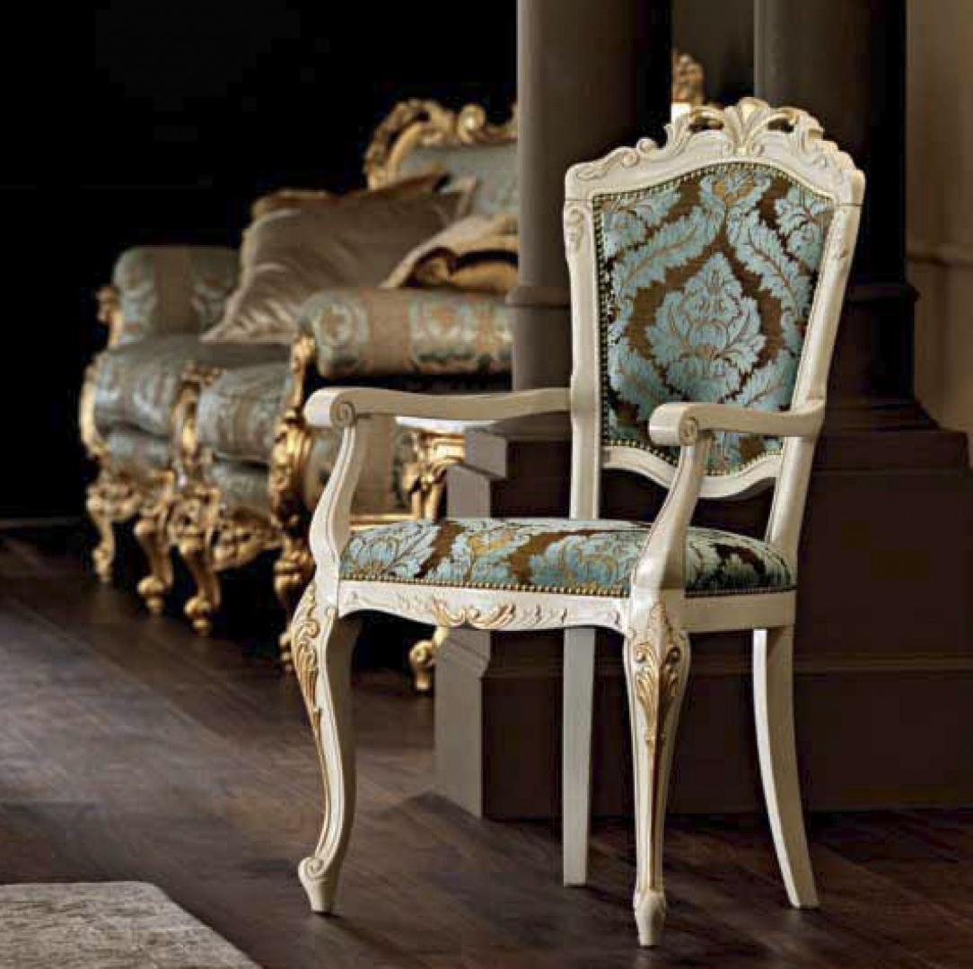 Modenese Gastone стул с подлокотниками 11511