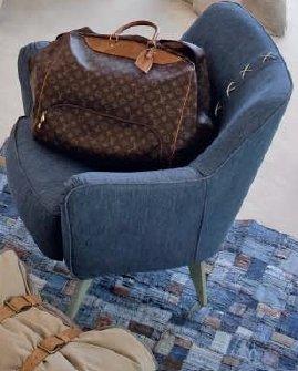 BOY джинсовое кресло 96617