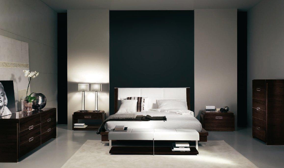 ON & ONLY современная спальня 97647