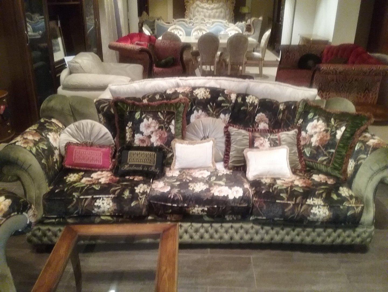 Beverly 4P диван (дерево/ткань) BEVE04DV4
