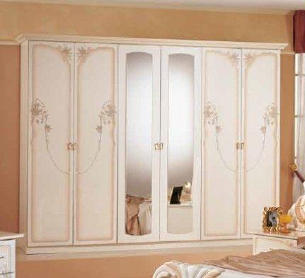 LORY шкаф 6-дверный 214030001