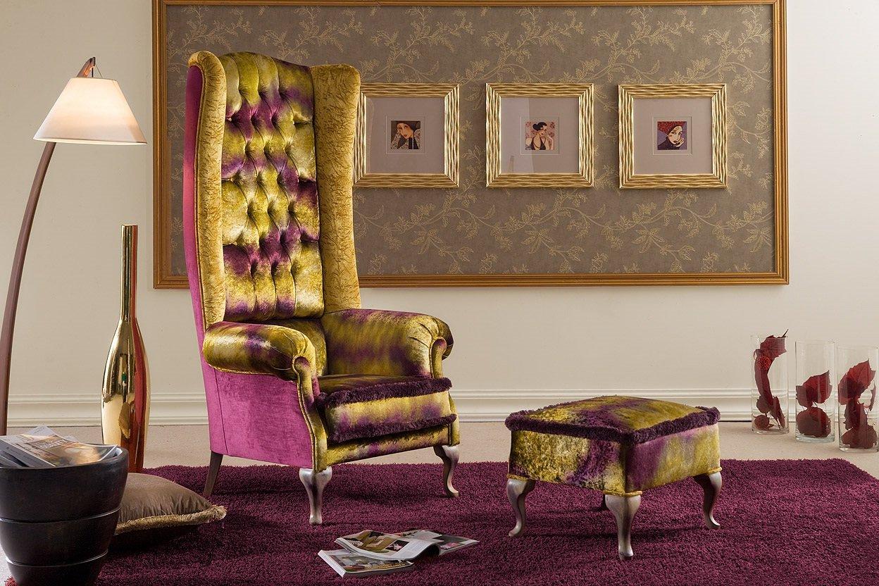 Morello Gianpaolo кресло арт-деко 1320