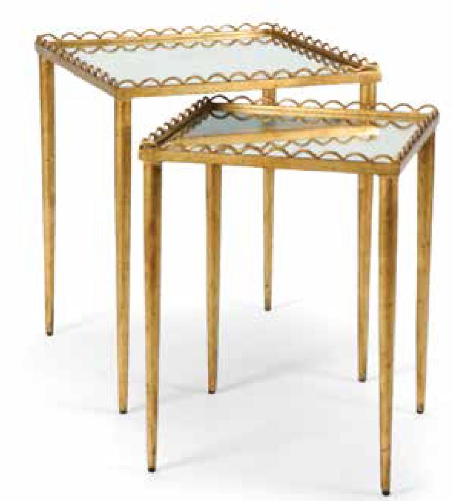 CHELSEA HOUSE столик кофейный с вложенным столиком 381704 381704
