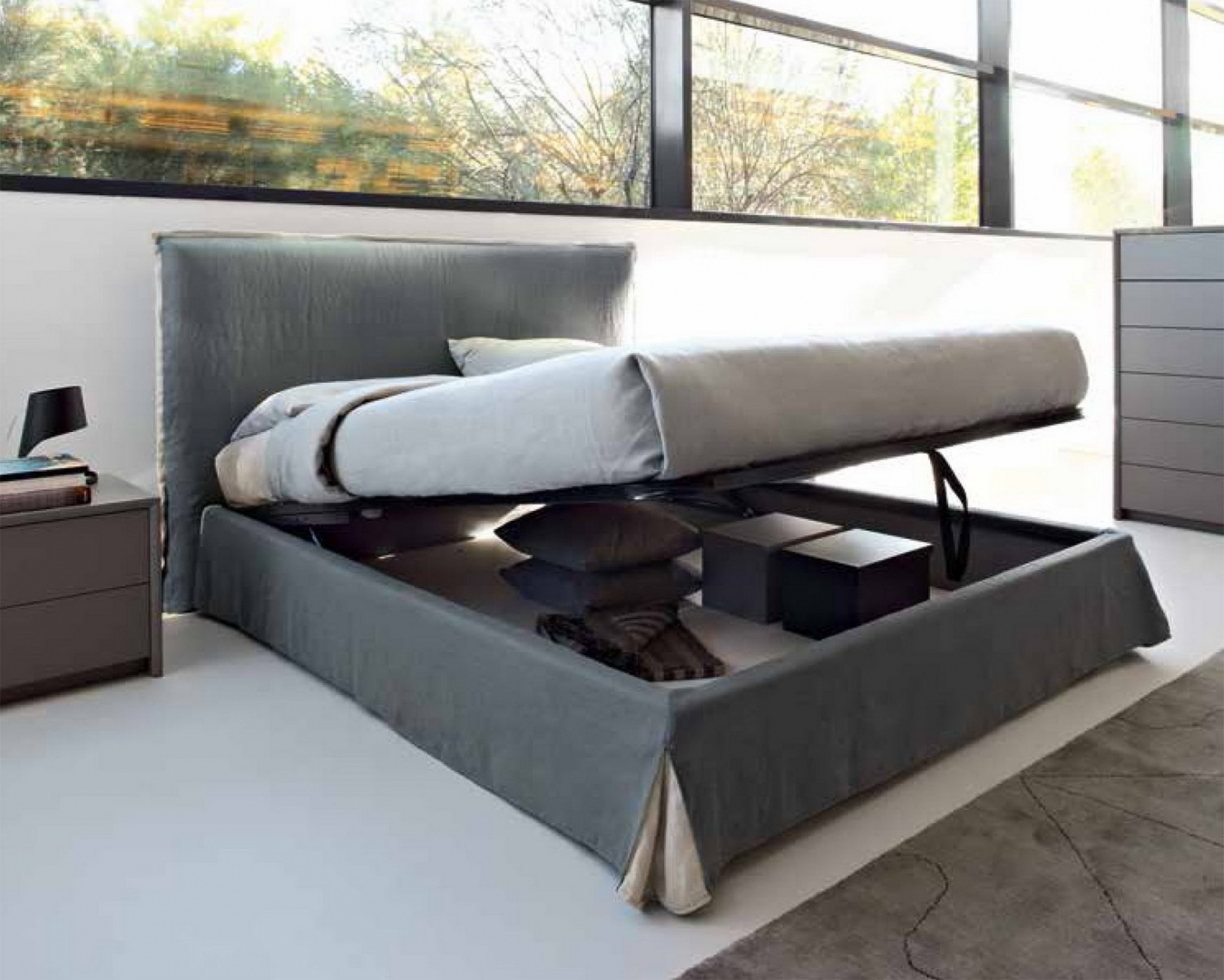 Howard кровать с подъемным механизмом CS6036-GС
