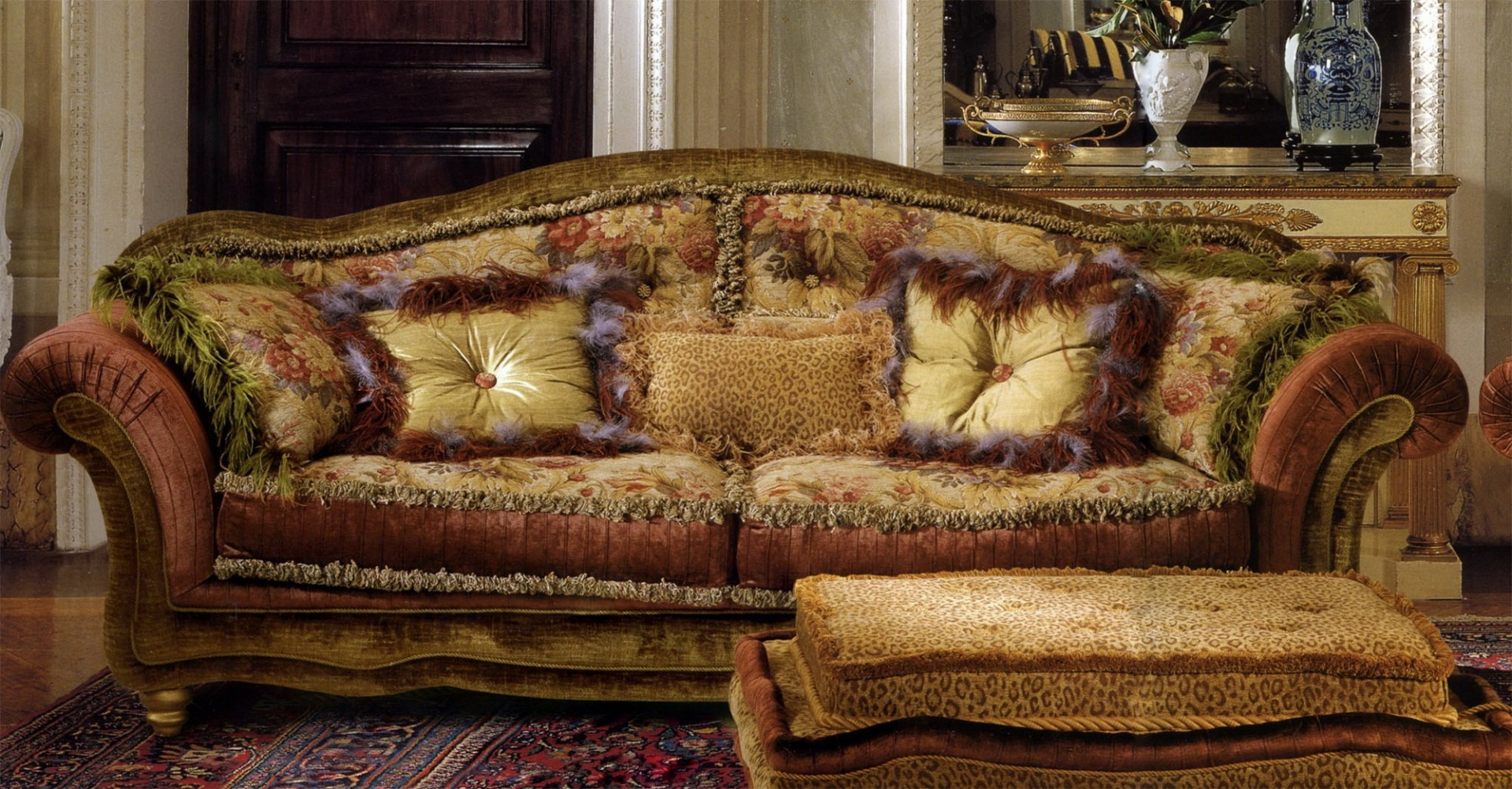 Alexander 3-х местный диван A-3-BMS