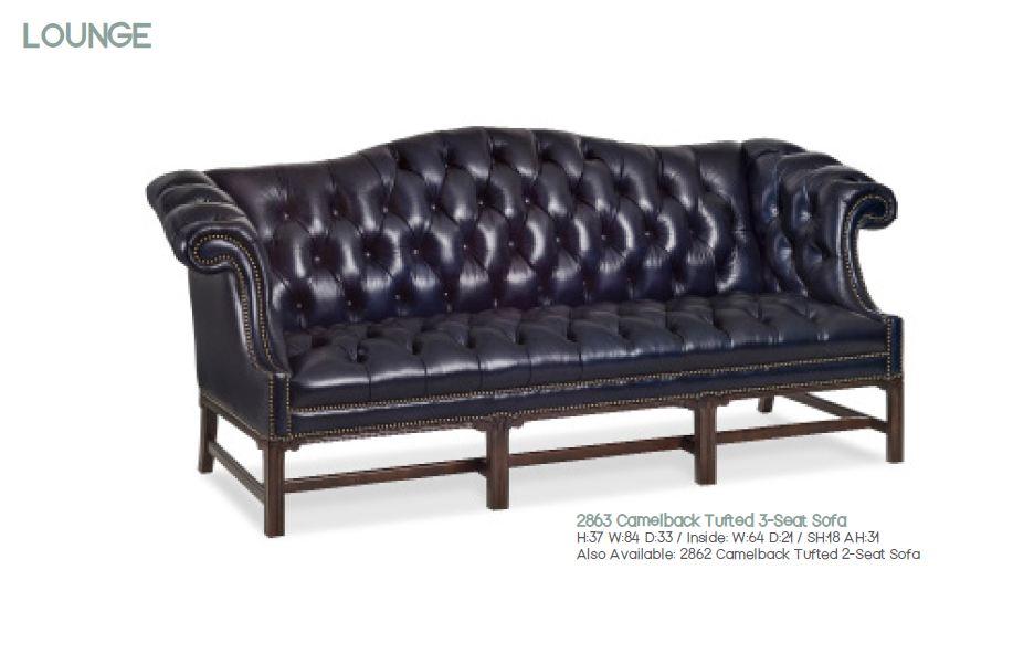 LEGENDS Диван Camelback Tufted 3-Seat 2683