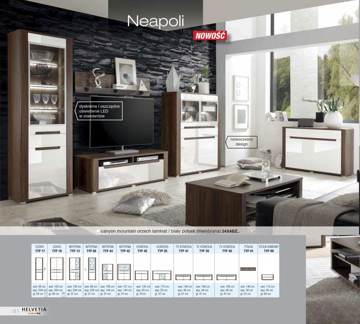 NEAPOLI комплект гостиной IM652