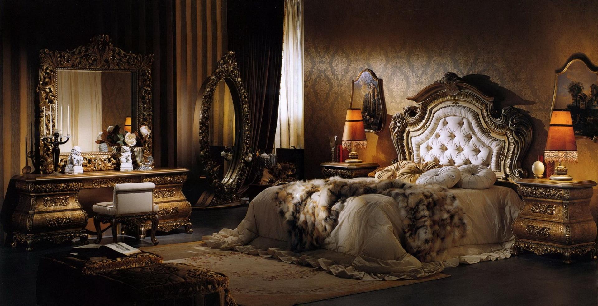 Opulence Итальянская спальня IM349