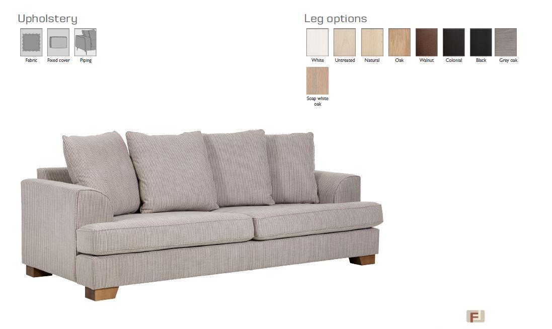 FRANKLIN 3-местный диван 125416