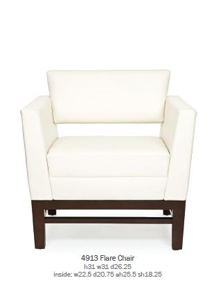 CABOT WRENN Кресло Flare Chair 4913