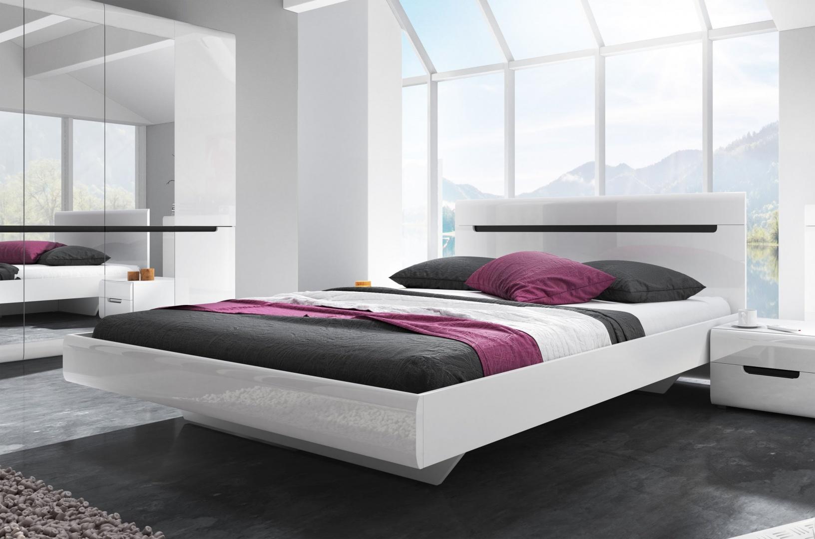 HEKTOR кровать 160 х 200  белый глянец 2498AJ31
