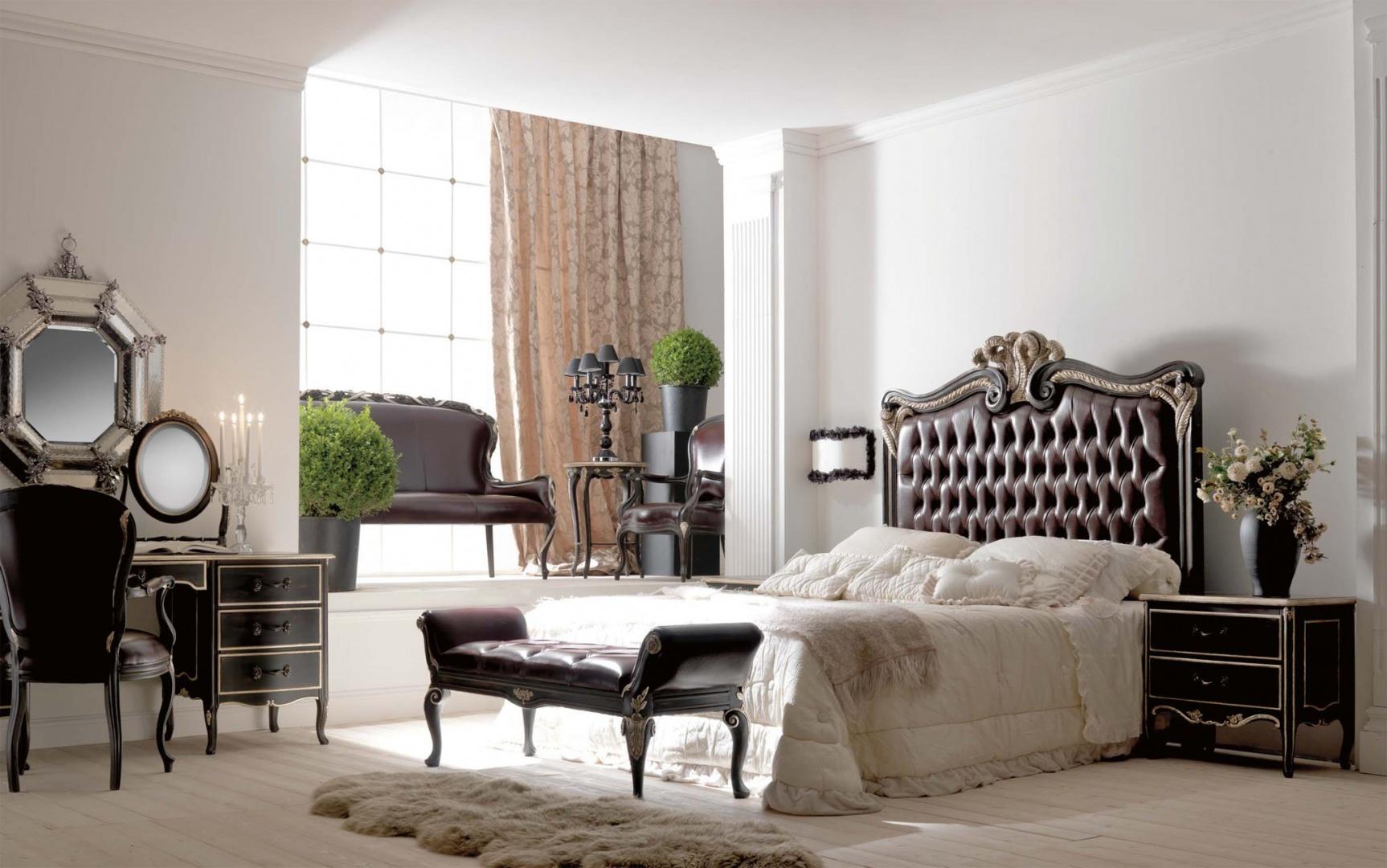 Notte 7 спальня чёрная IM122