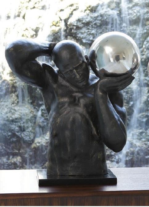 GLOBAL VIEWS статуэтка 8.81589 122805