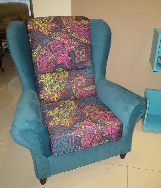 BARON кресло в ткани 1S