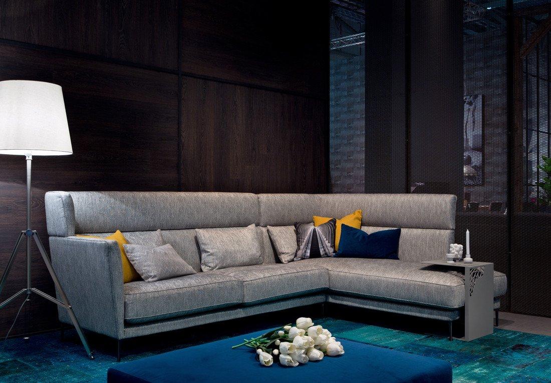 AURA HIGH 3-местный диван с оттоманкой 120820