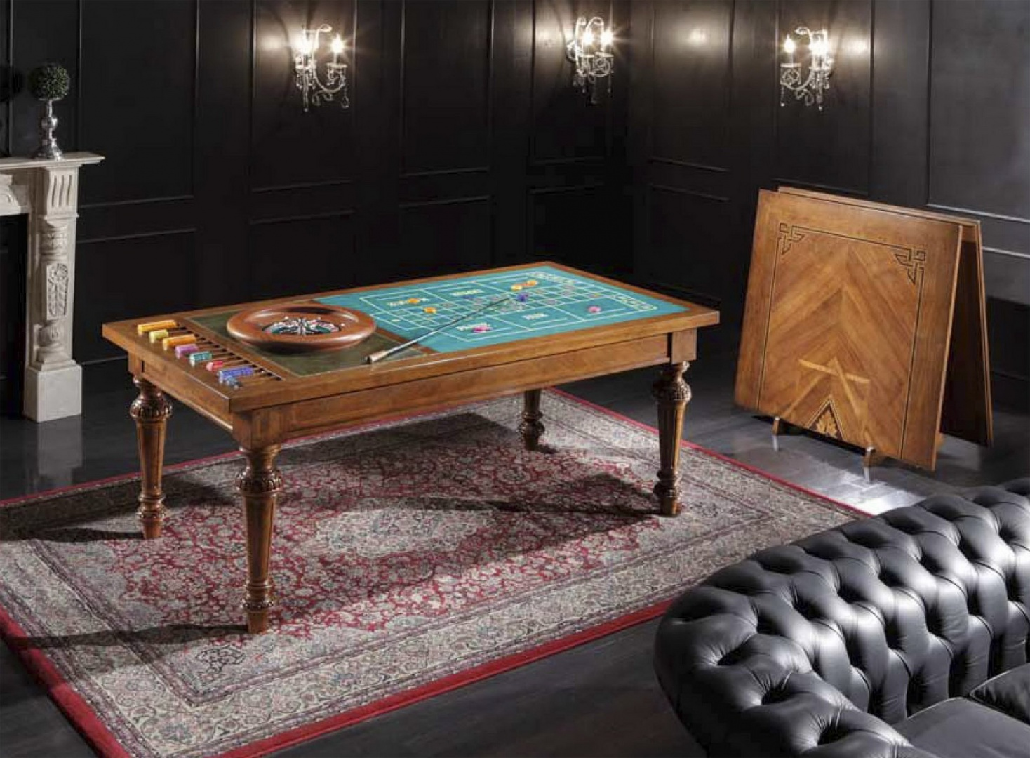 Scappini стол для игры в рулетку прямоугольный SCAP14